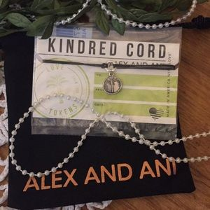 Alex & Ani Kindred Cord *NEW* Silver Palm Tree